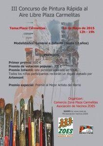 Concurso de Pintura Rápida al aire libre en Carmelitas