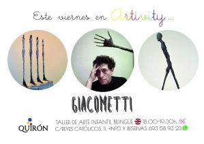 Giacometti en el Artivity el 29 de mayo