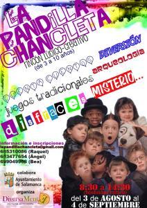 Rincón Lúdico de La Pandilla Chancleta