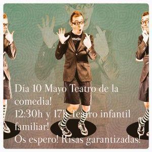 Risas en el Teatro La Comedia