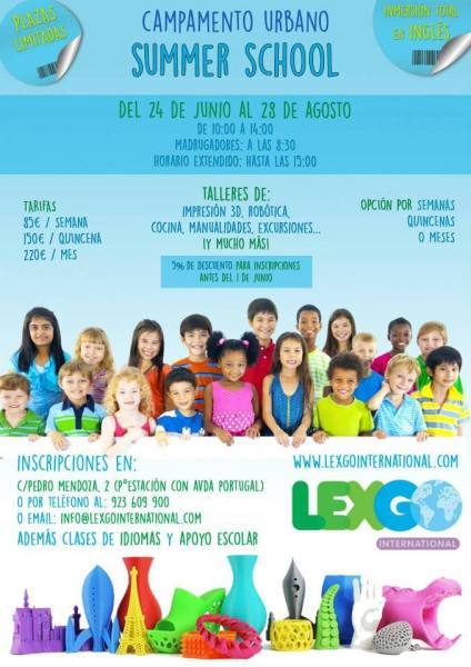 Summer School Lex Go en Salamanca
