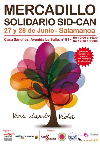 Mercadillo Solidario SID-CAN pyfano