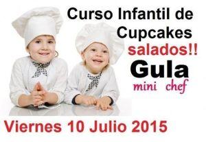 Cupcakes salados en Gula el 10 de julio