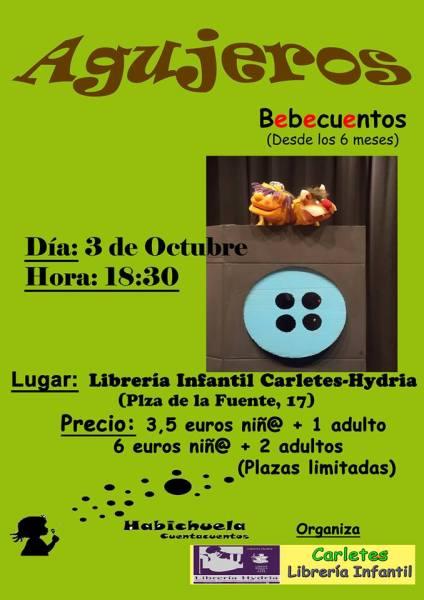 """""""Agujeros"""" de Habichuela en Carletes"""