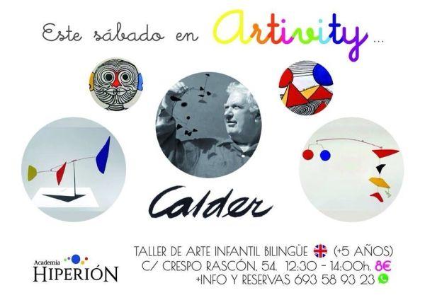 Calder en el Artivity