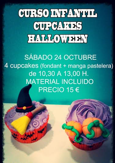Curso cupcakes de Halloween en Tarty Party