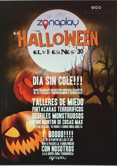 Halloween en Zona Play