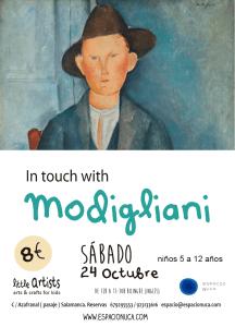 Modigliani en Little Artists de Espacio Nuca