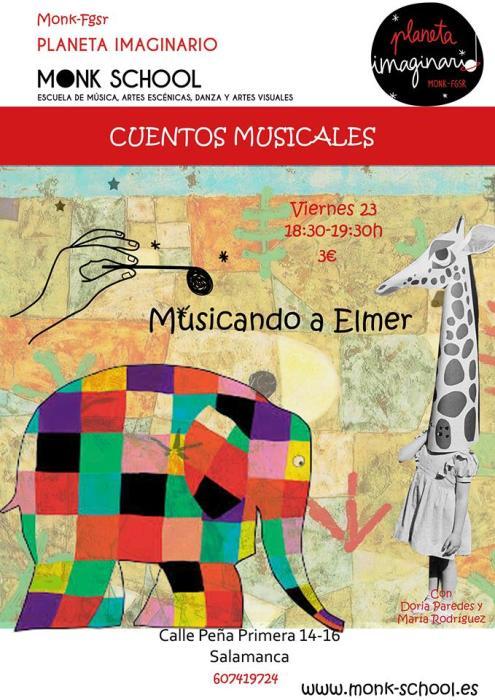 Musicando a Elmer en MONK el 23 de octubre