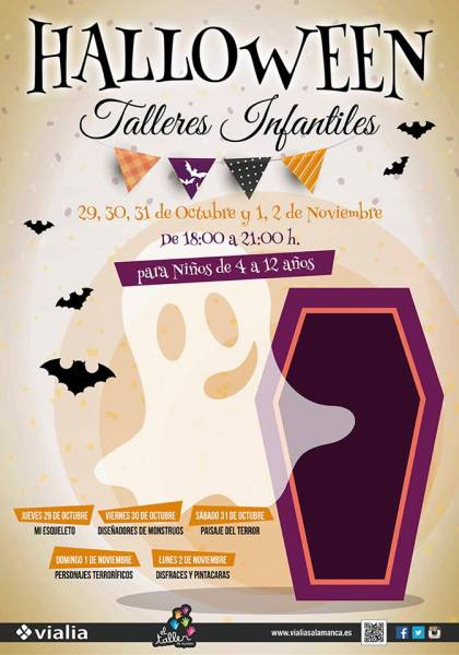 Talleres de Halloween en Vialia