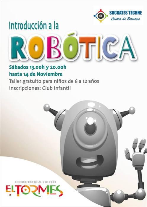 Talleres de Robótica en El Tormes el sábado 24 de octubre
