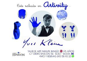 Yves Klein en Artivity