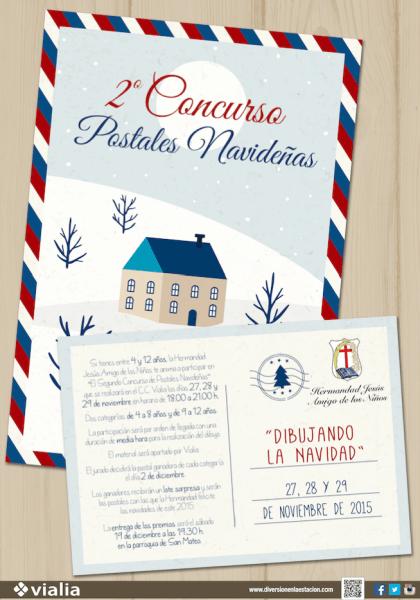 2º Concurso de Postales Navideñas en Vialia