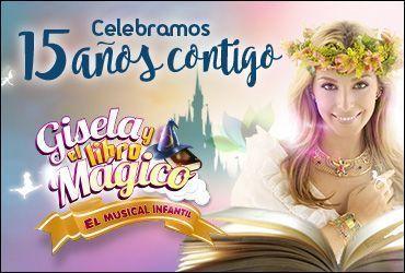 Celebra el 15 aniversario del Tormes con Gisela y el mundo mágico