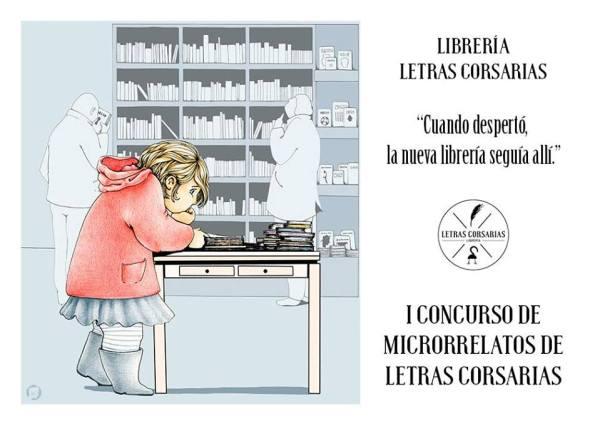 Concurso de Microrrelatos en Letras Corsarias para celebrar el Día de las Librerías en Salamanca