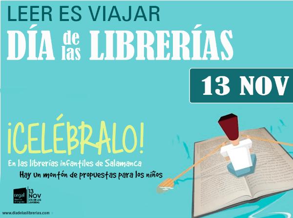 Día de las Librerías 2015 en Salamanca