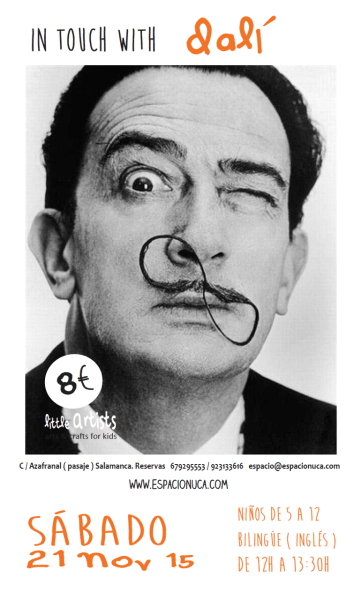 Dalí en Little Artists de Espacio Nuca