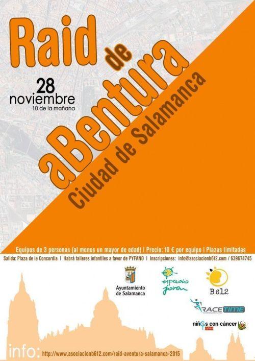 Raid de aBentura Ciudad de Salamanca