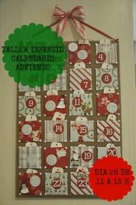 Taller Infantil de Calendario de Adviento en Lola Botona