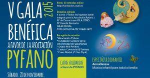 V Gala Pyfano en el Palacio de Congresos de Salamanca el 28 de noviembre