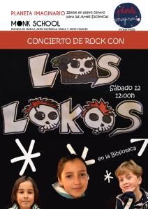 Concierto de Los Lokos en Monk