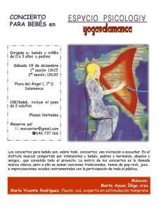 Concierto para bebés en Espacio Psicología Yoga