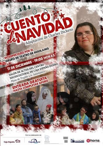 """""""Cuento de Navidad"""" interpretada por Insolamis"""