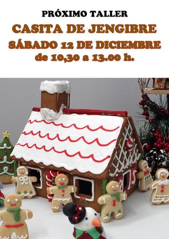 Taller de Casita de jenjibre en Tarty Party