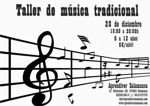 Taller de música tradicional en Aprendiver