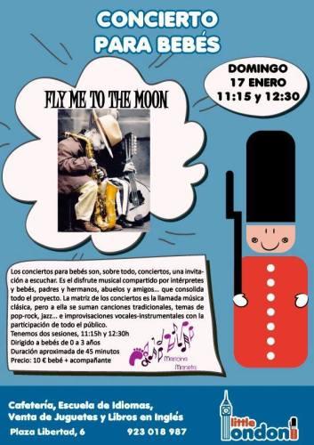 """Concierto para bebés """"Fly me to the moon"""""""