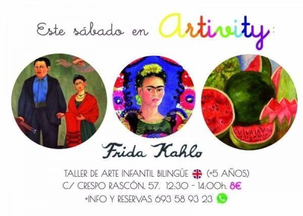 Frida kahlo en Artivity