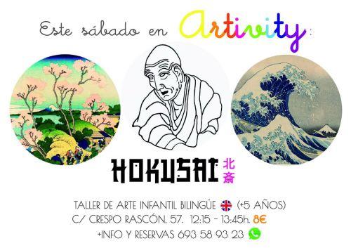 Hokusai en el Artivity