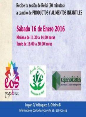 Jornada de Reiki Solidario