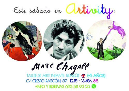 Marc Chagall en el taller infantil de arte bilingüe