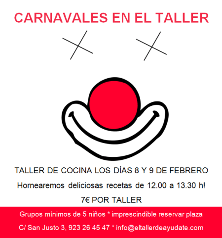 Talleres de cocina infantiles en El Taller de Ayúdate en Salamanca