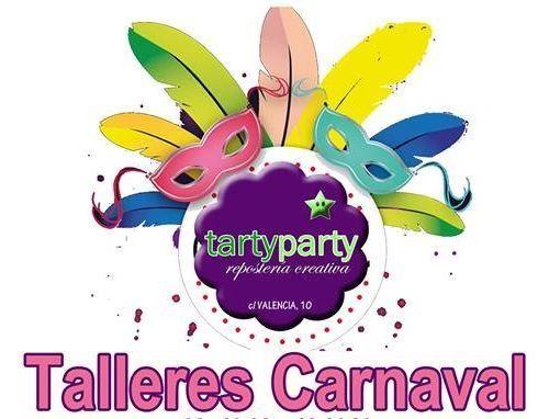 Talleres infantiles de repostería de Carnaval en Tarty Party