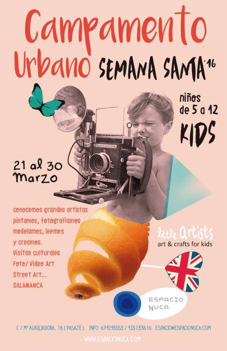 Campamento Infantil de Semana Santa en Espacio Nuca