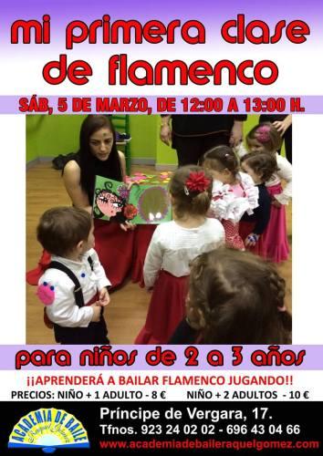 Mi primera clase de flamenco en la Academia de Baile de Raquel Gómez en Salamanca