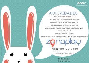 Talleres infantiles de Pascua en Zona Play