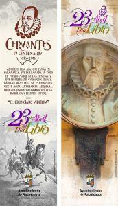 Cervantes en el Dia del Libro