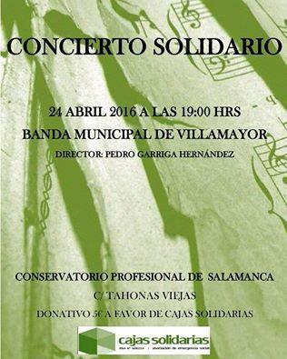 Concierto Solidario de la Banda Municipal de Villamayor a favor de Cajas Solidarias