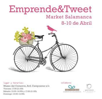 Emprende&Tweet Market Salamanca en el Museo del Comercio