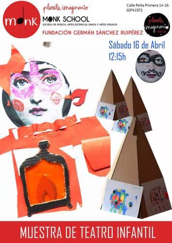 Muestra de teatro infantil en Planeta Imaginario