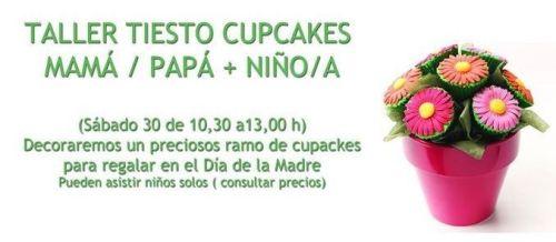 Taller de tiesto de cupcakes para el Día de la Madre en Tarty Party