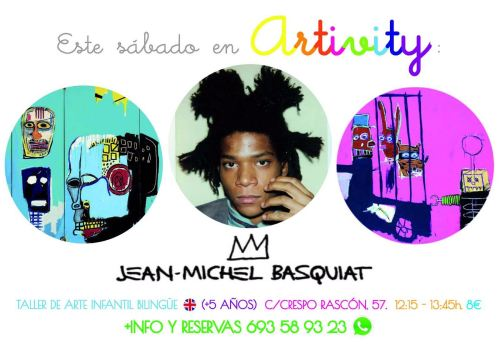 Artivity con Jean Michel Basquiat