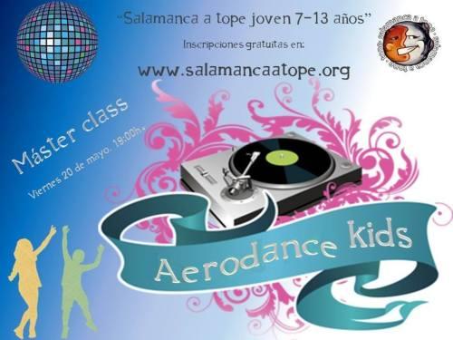 Masterclass Aerodance Kids, una propuesta de Satope Joven