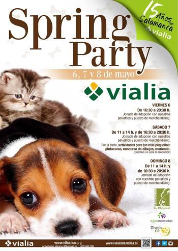 Spring Party en Vialia Salamanca