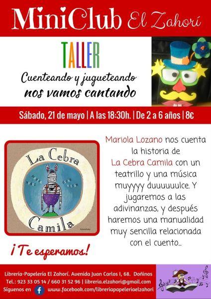 Taller creativo para niños con Mariola Lozano en la librería El Zahorí