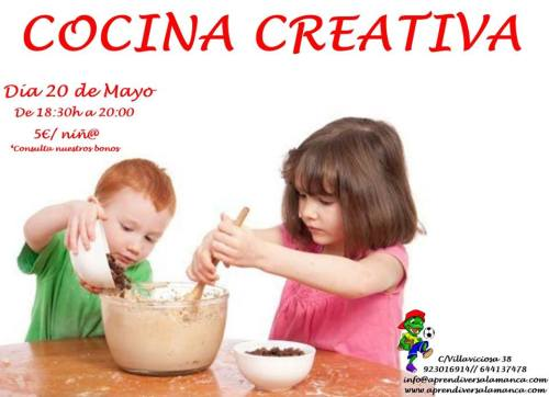 Taller de cocina creativa en Aprendiver
