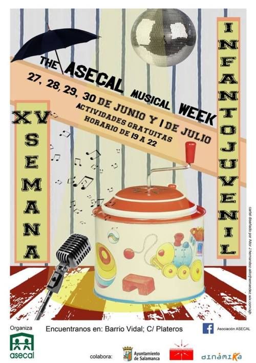 15ª Semana Infanto-Juvenil de ASECAL